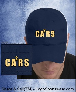 Nike Golf Cap Navy, with CA2RS Embroidered Logo Design Zoom